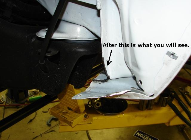 2007.5-2014 NBS HD *LARGE* Fender mod (Step by step pics ...